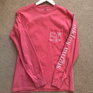 Sigma Kappa Coral Shirt